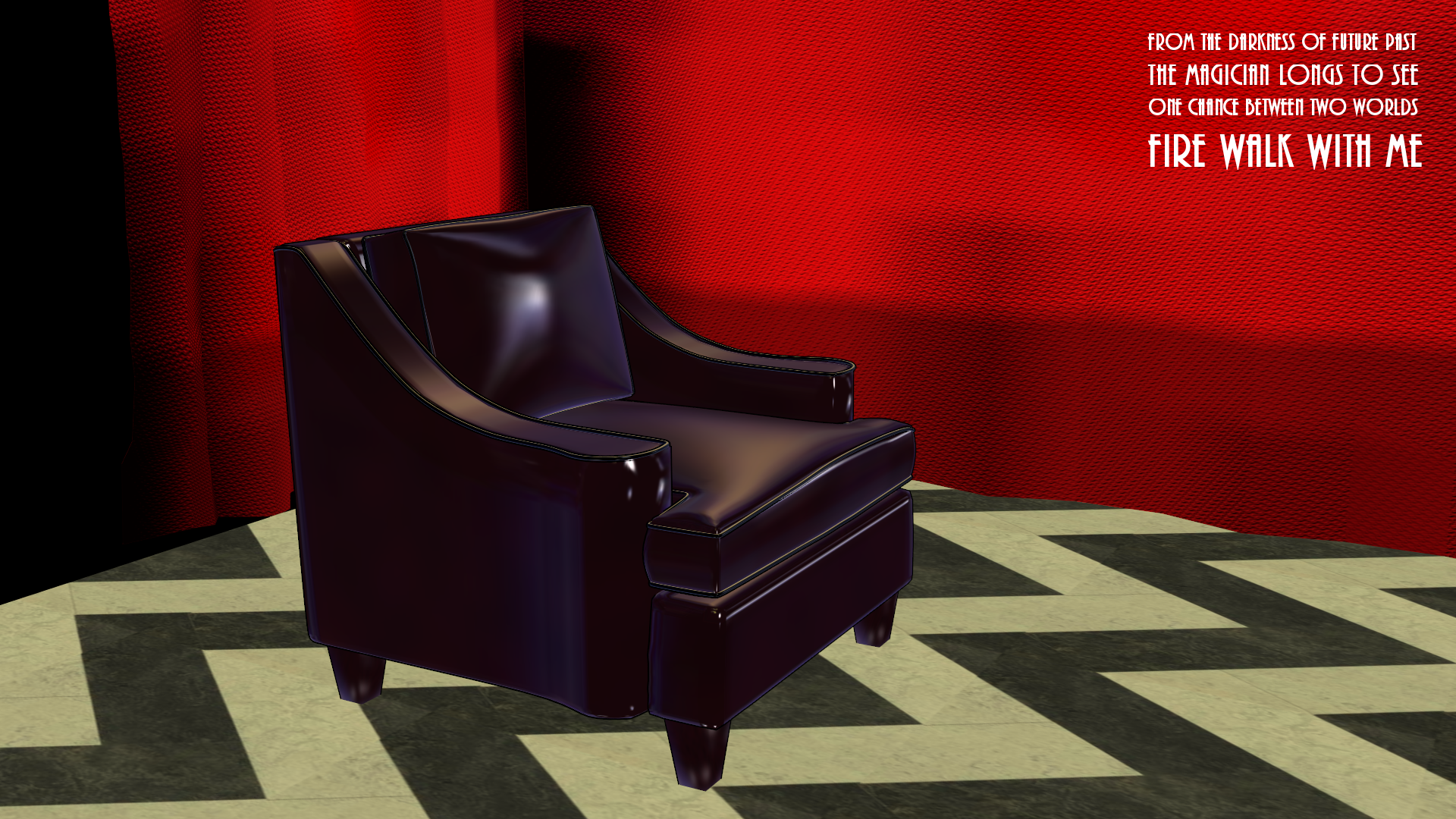 Big Uncomfy Chair for MMD