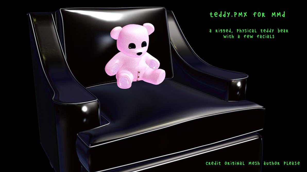 Teddy pmx for MMD by vasilnatalie on DeviantArt