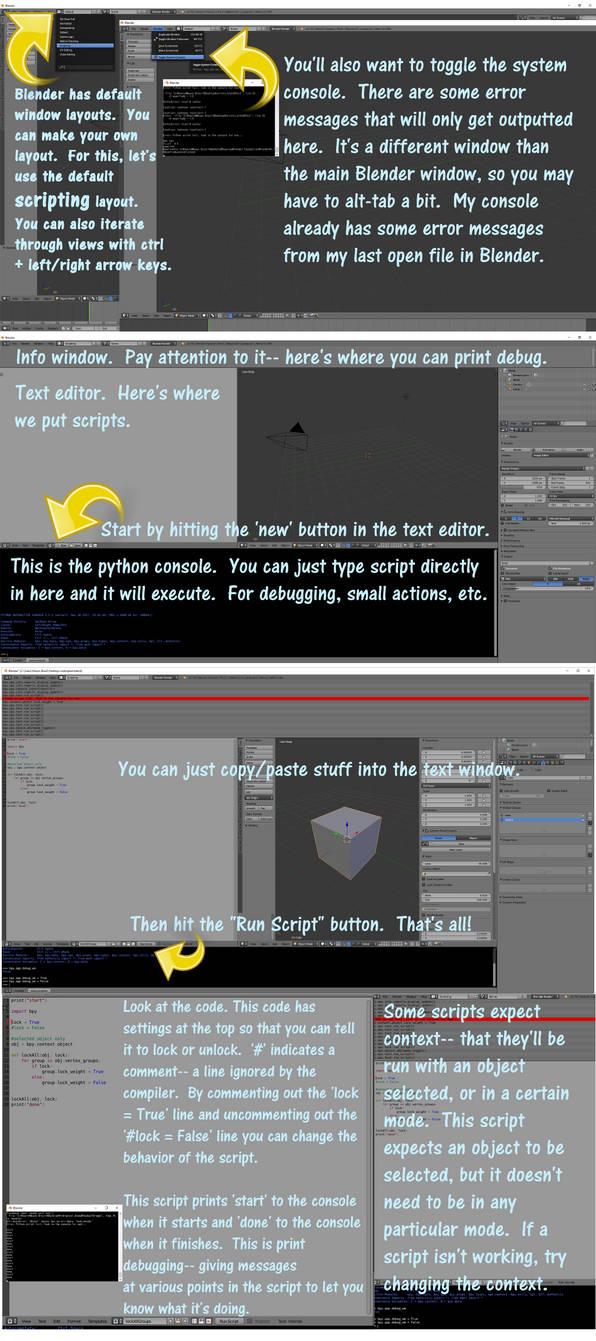 Running Scripts in Blender by vasilnatalie on DeviantArt