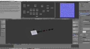 Seamless normal map generation setup in Blender