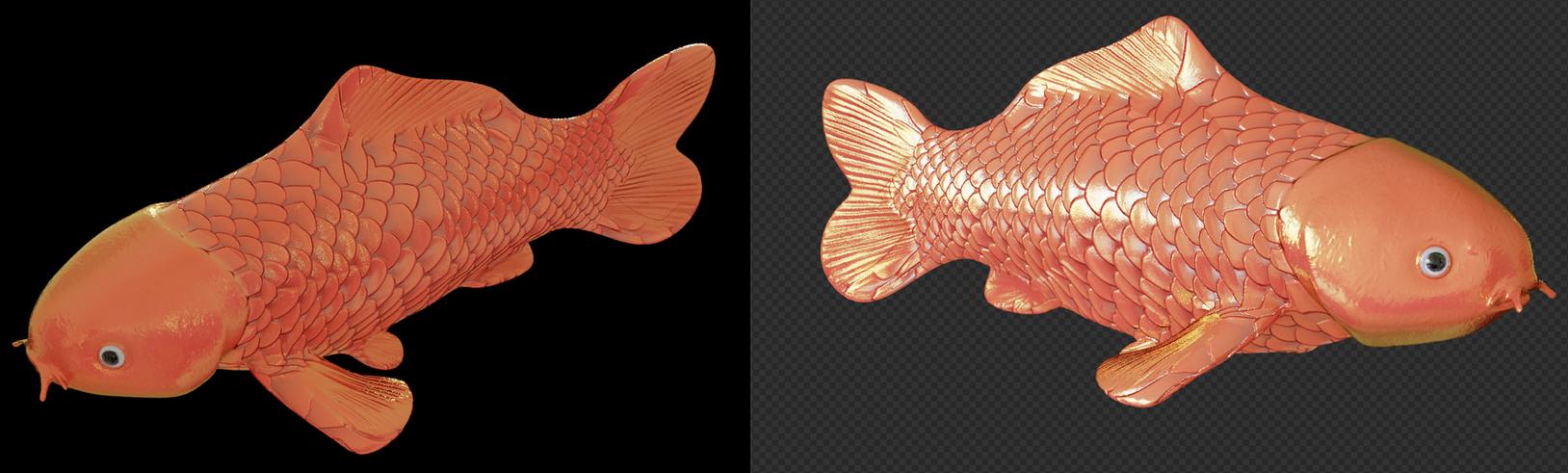 Textured fish by vasilnatalie