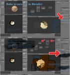 Remapping textures from alternate UV in Blender