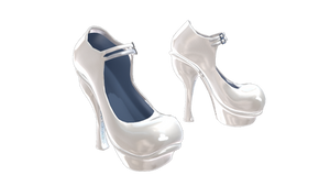 Download Girly Shoes .pmx for MMD