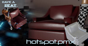 Download hotspot.pmx chair for MMD