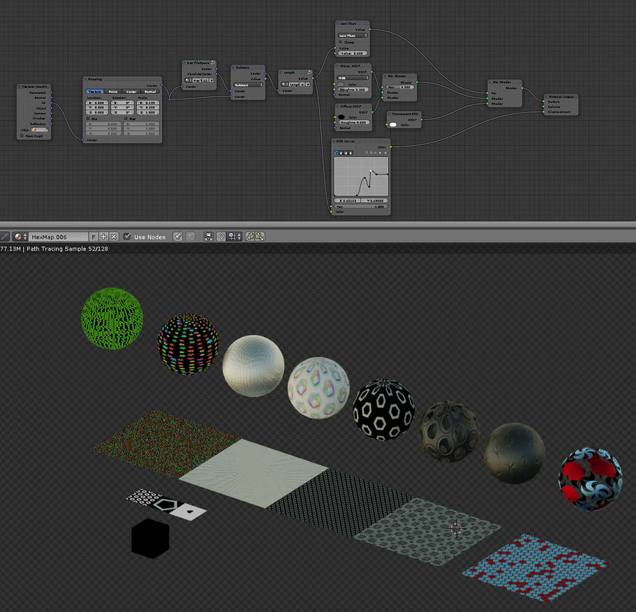 Download Shapespace Nodes for Blender Cycles by vasilnatalie on