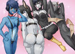 furry harem request nsfw for The-Legionary1