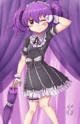 little gothic girl by nmnumberzero
