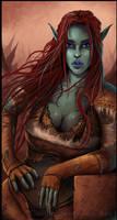 Elf Orc Character