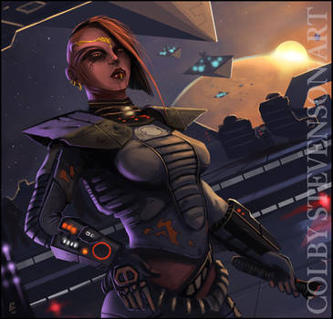 Maelara Sith Pureblood by ColbyStevenson