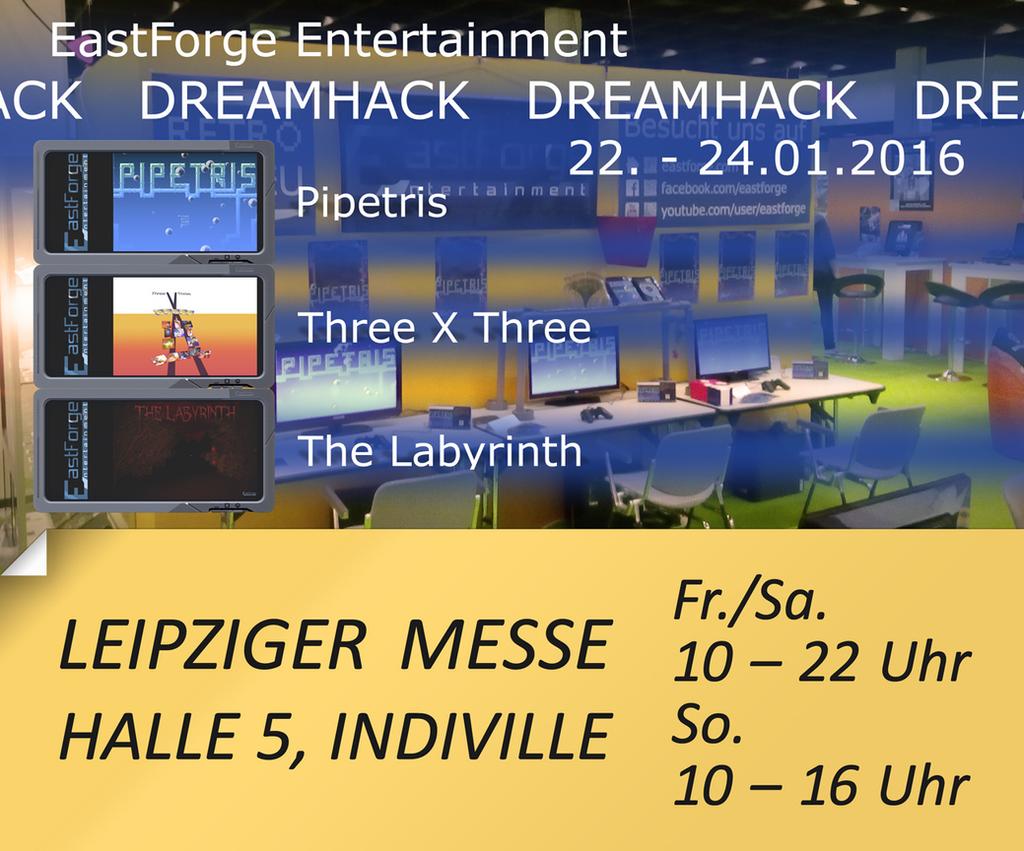 EastForge at Dreamhack Leipzig 2016 by EastForge