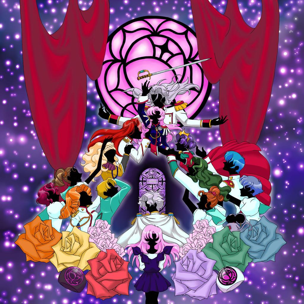 Revolutionary Girl Utena Fan Art By Lotuscrystal On Deviantart