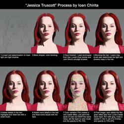 JessicaTruscott Process IoanChirita by IonChirita