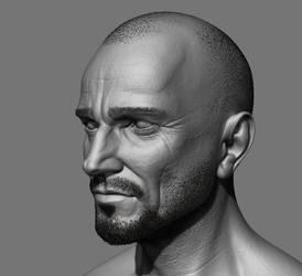Zbrush Head Practice by IonChirita