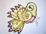 Yellow Canary tattoo