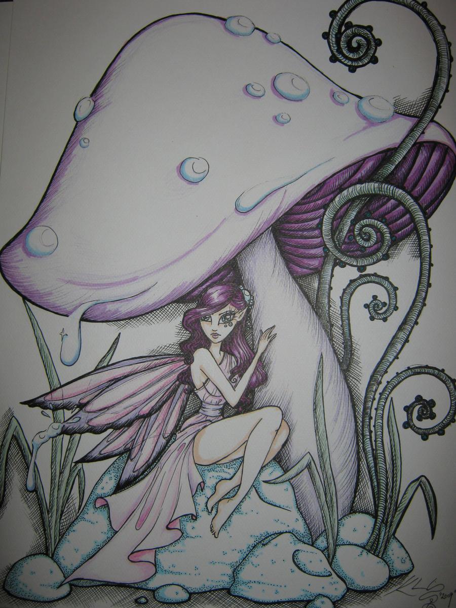 Shroom Fairy by Kharlia on DeviantArt