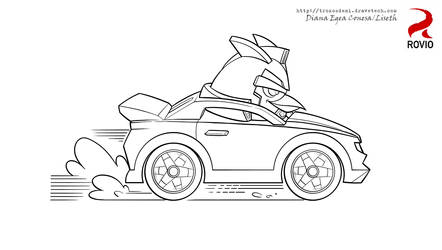 Angry Birds Transformers bumblechuck by Liseth