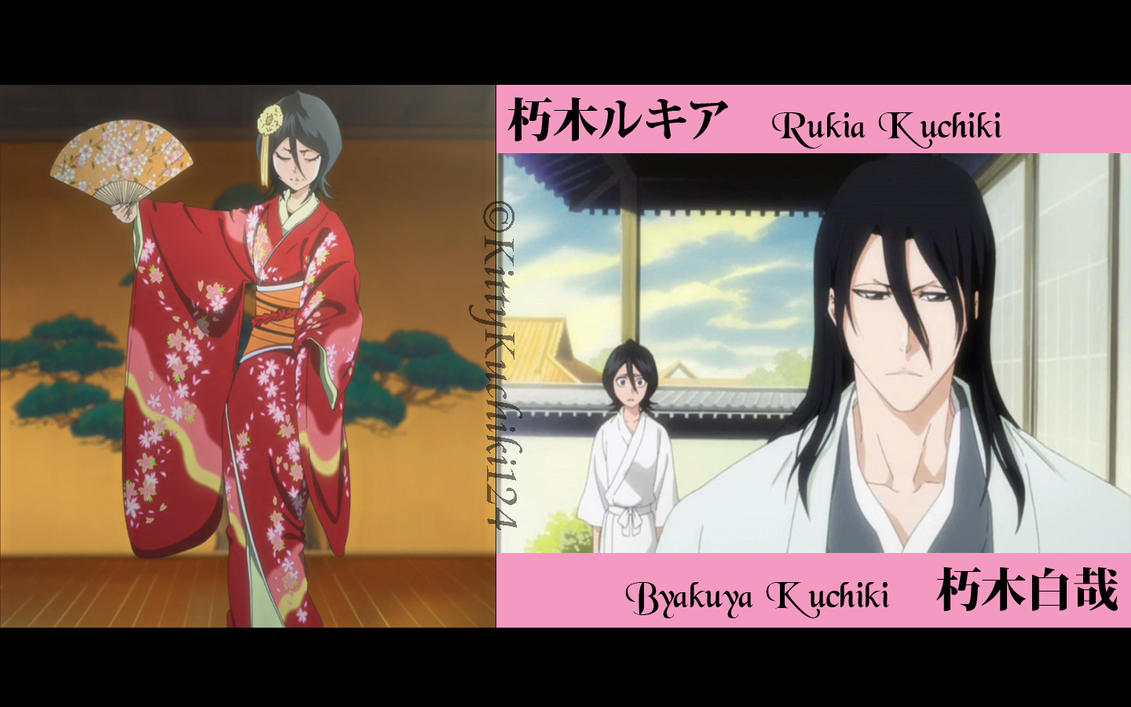Bleach hisana and byakuya