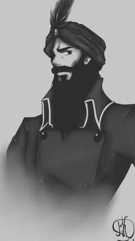 Captain Nemo / prince Dakkar