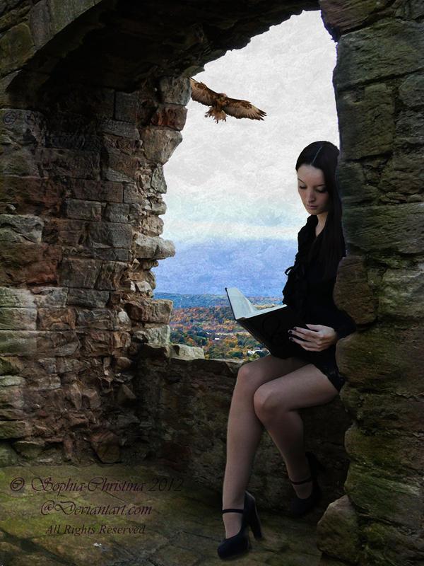 Idylic Reading Nook by Sophia-Christina