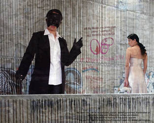 Decepetion Wears a False Mask by Sophia-Christina