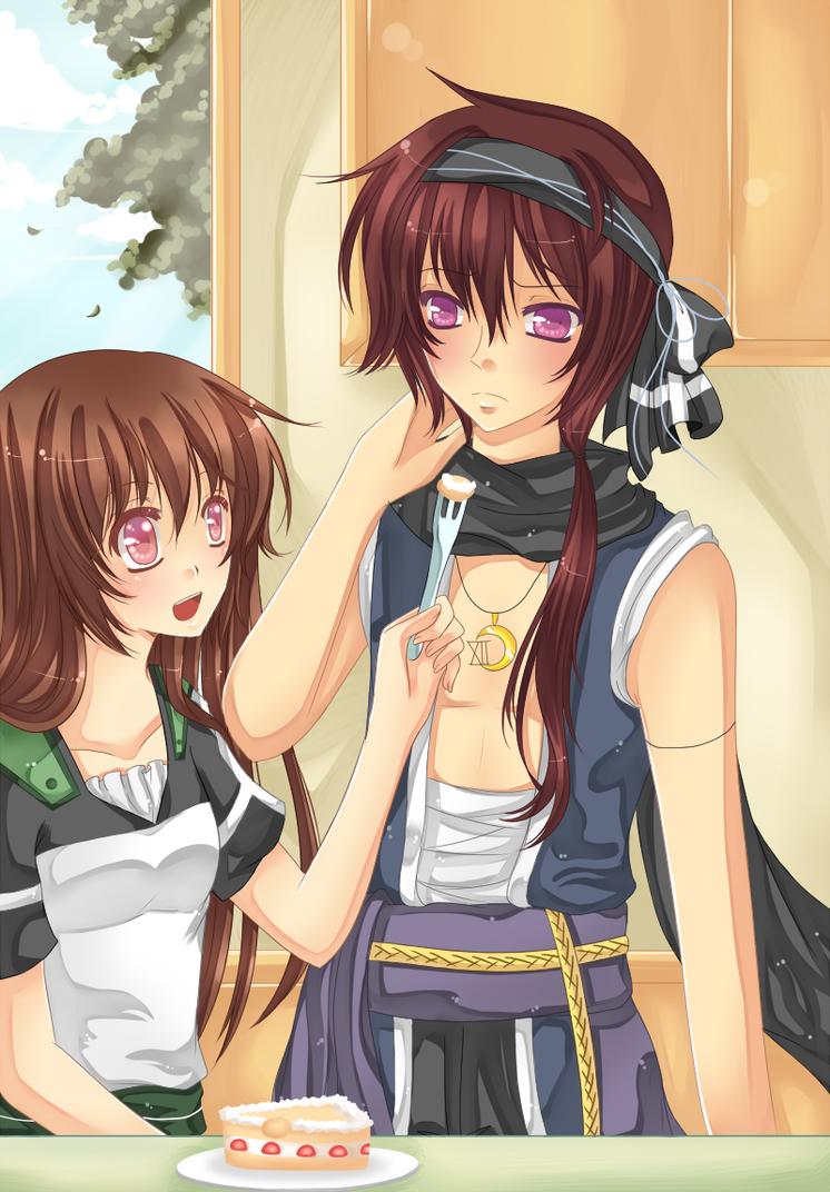 Commission: Say Ah... by Koori-sae-chan