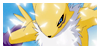 Renamon Stamp by SakuMccutcheon