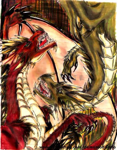 dragones by demoniobodrio