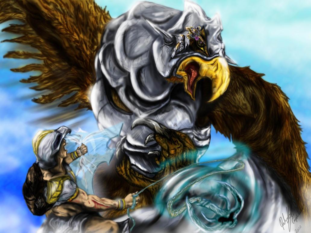 Armadyl's Eyrie ruler of sky
