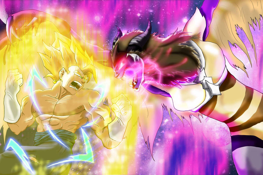 Super Vegito Vs  Nex by l3nbak