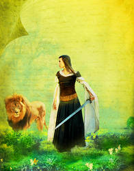 The Girl And The Lion