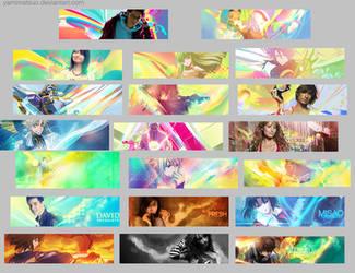 Tag Wall 2 by YamiMatsuo