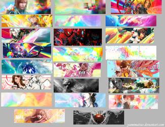 Tag Wall 3 by YamiMatsuo