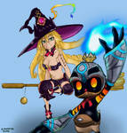 Witch and the Hundred Knight - Fanart