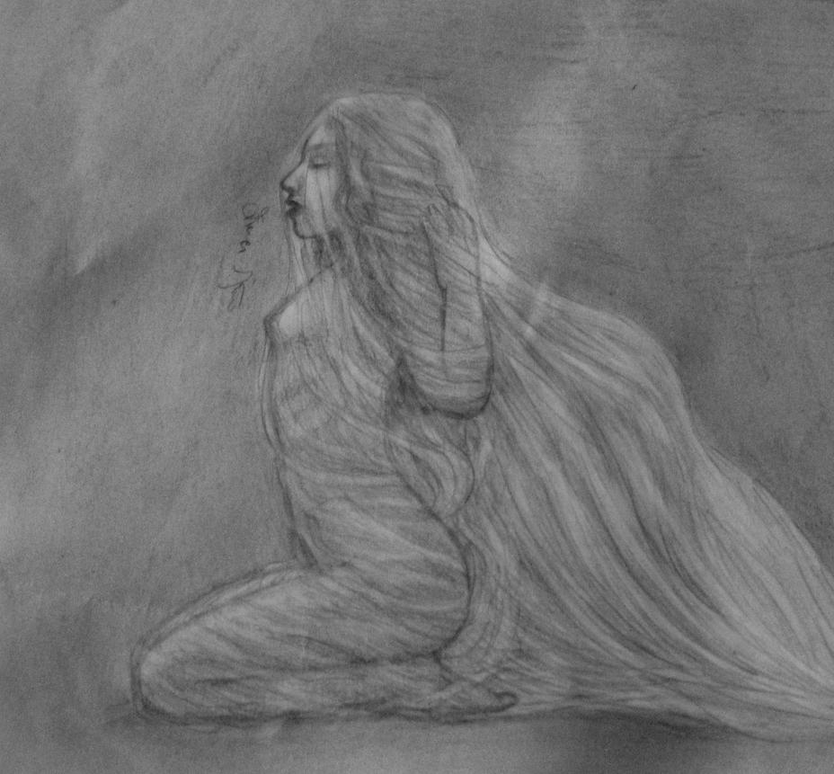 Woman In Veil by zebnemma