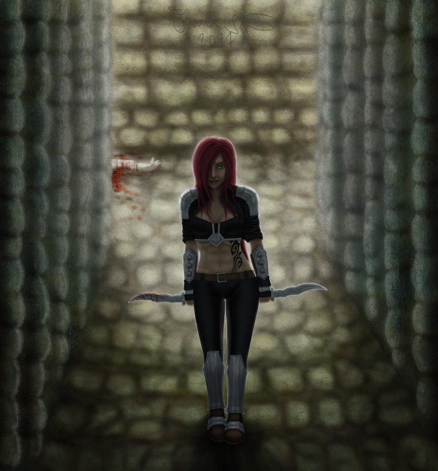 Katarina: The sinister blade by zebnemma