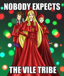 Monty Python's Vile Tribe by kimmipen