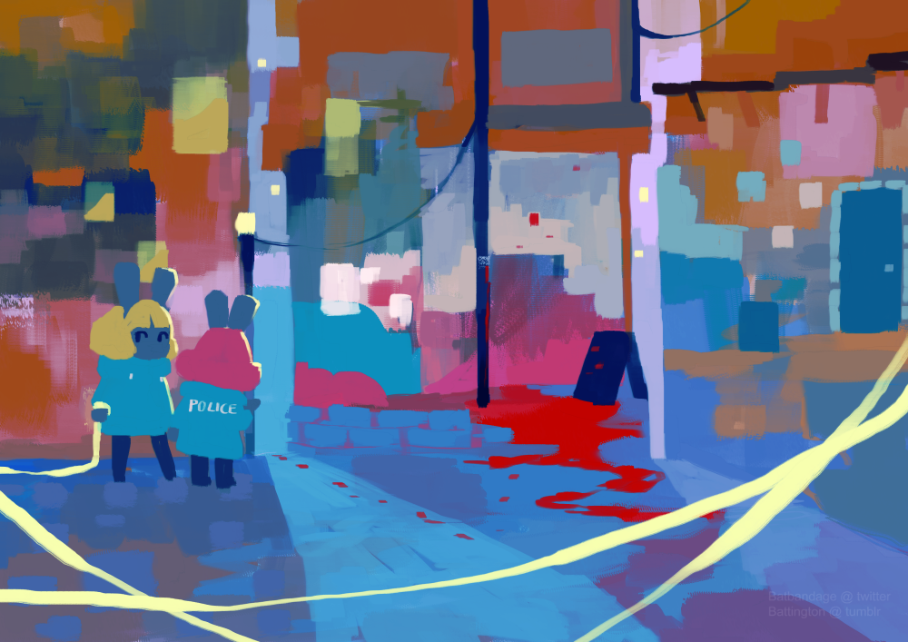 Small Town Crime By Alebat On Deviantart