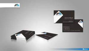 Mars Business Card Design by HalitYesil