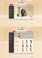 Ayakkabi Dunyasi Web Design by HalitYesil