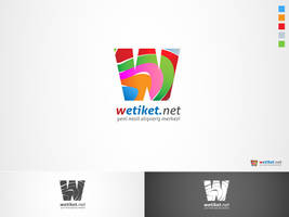 wetiket.net logo work 2 by HalitYesil