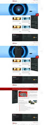 Oyak Security Corporate Web Interface by HalitYesil