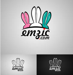 Emzic.com Logotype design by HalitYesil