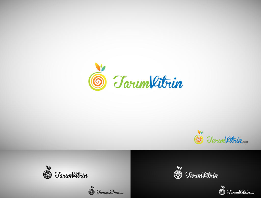 Tarim Vitrin Logo Work by HalitYesil