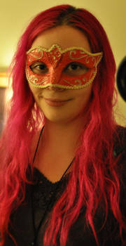 Moi with mask