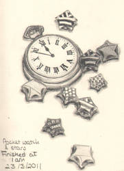 Stars and Pocket Watch