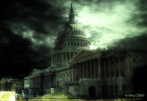 Post Apocalyptic Capitol by CaWoDa