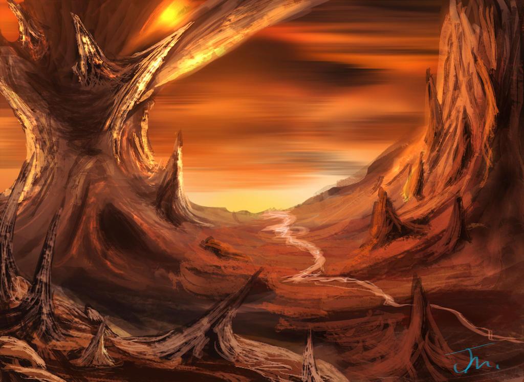 Dragon 39 S Landscape By Jakeaferr On Deviantart