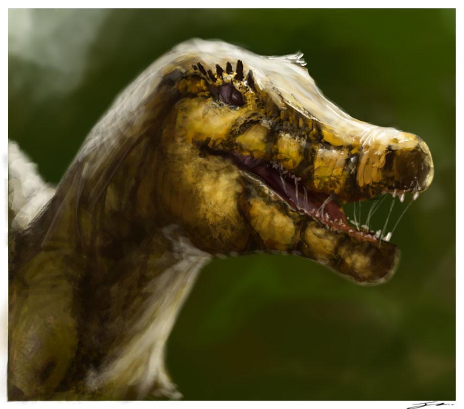 DinoSketch by Jakeaferr