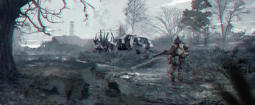 Chernobyl by SamTheConceptArtist