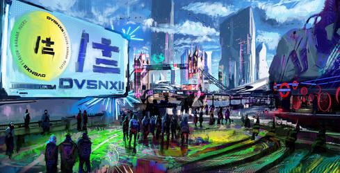 DVSNXII Artwork 2 by SamTheConceptArtist